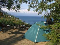 Палаточный лагерь у моря лето 2014 г