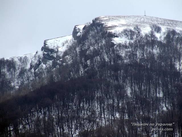 Вершина Стол-гора