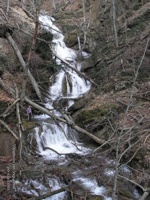 Каскад водопадов в ущелье Хапхал