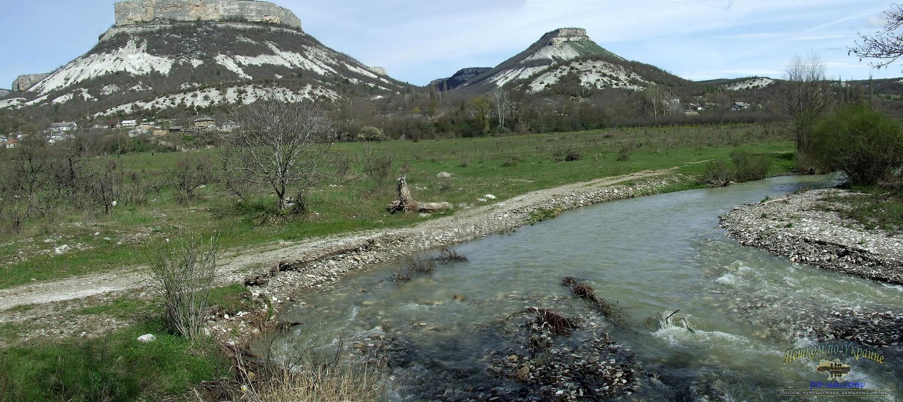 Река Кача и Тепе-Кермен