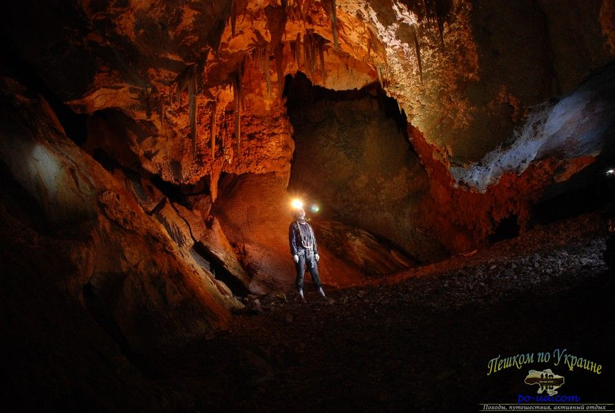 В пещерах на Караби-яйле