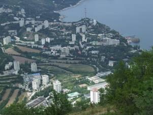 Вид на Партенит с Медведь-горы