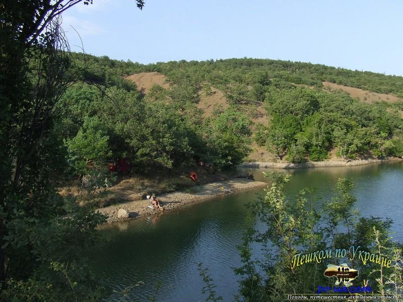 Рыбалка в горном озере