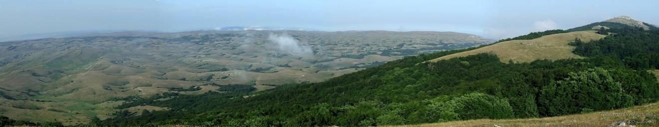 Лунная поверхность Караби-яйлы. Вид с горы Тай-Коба