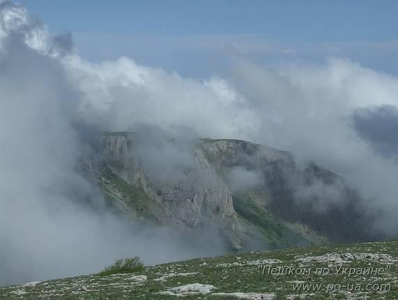 Облака над Караби-яйлой