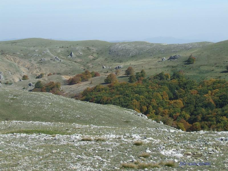 Верховья ущелья Чигенитра