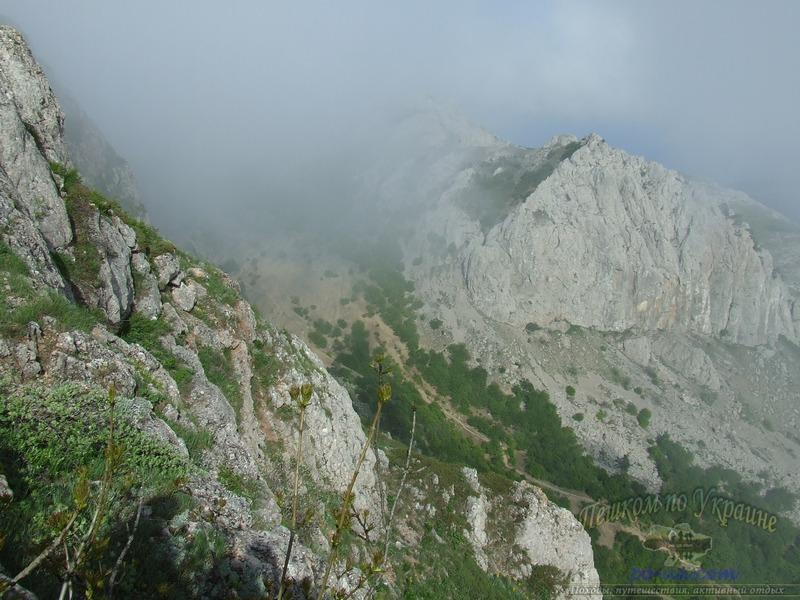 Облако в ущелье Чигенитра
