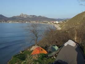 Отдых дикарем на Черном море в Крыму