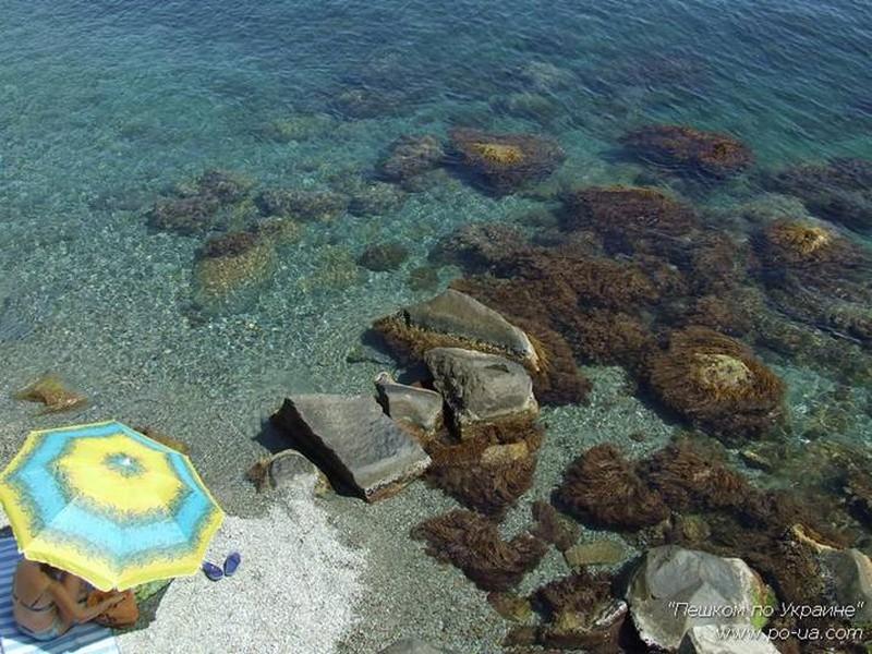 Лагерь на море - на пляже у туристического лагеря