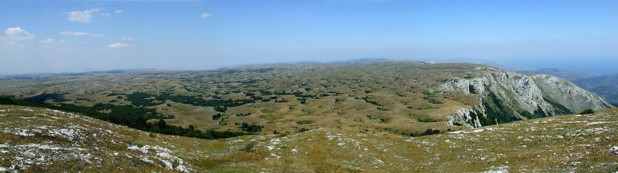 Панорама Караби-яйлы