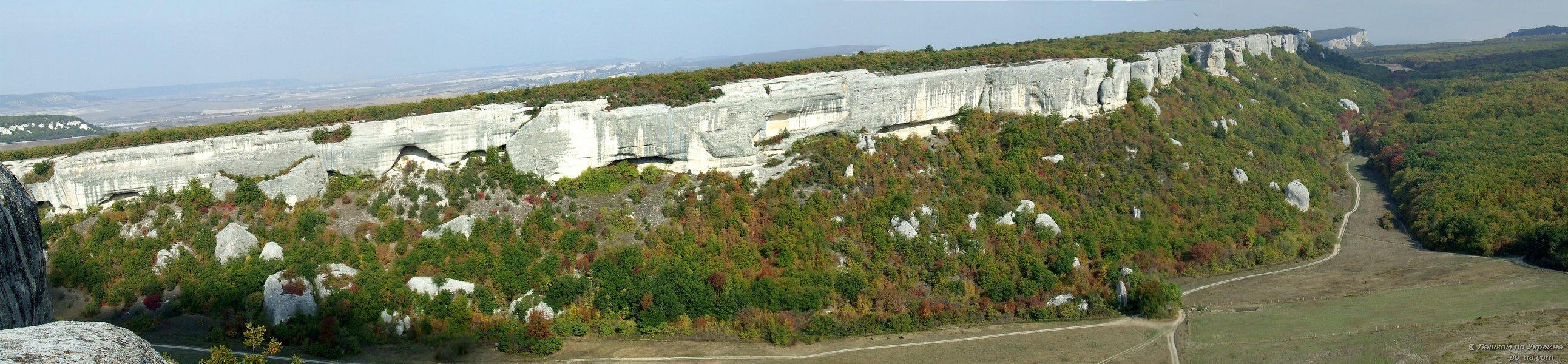 Панорама с Эски-Кермена