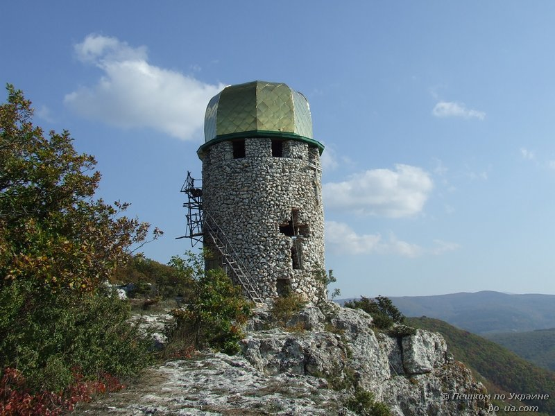 Башня колокольни монастыря Шулдан