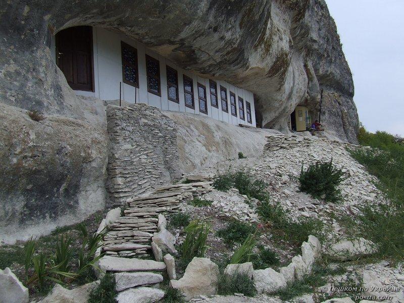 Южный пещерный храм. Мангуп