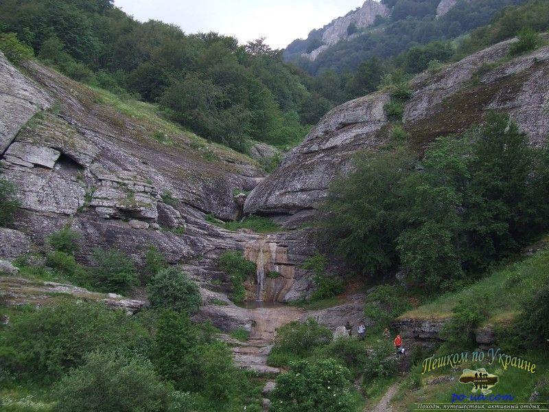 Ущелье и водопад Джурла