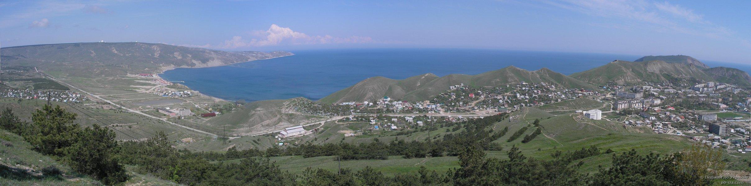 Самые восточные горы в Крыму
