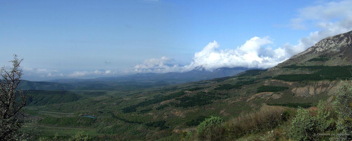 Панорама со стоянки Чигенитра