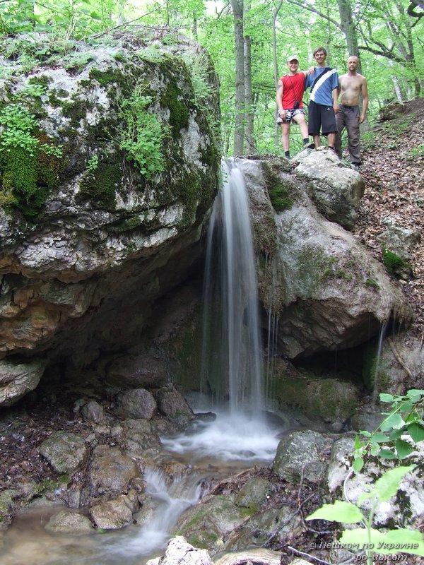 Водопад на реке Нефан-Узень