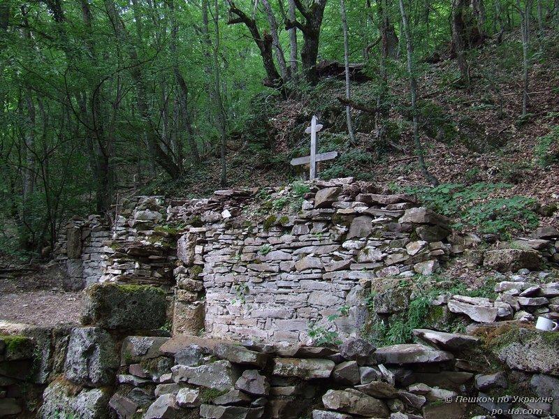 Руины монастыря Святой Анастасии