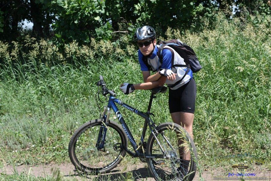 В велопоходе по Крыму