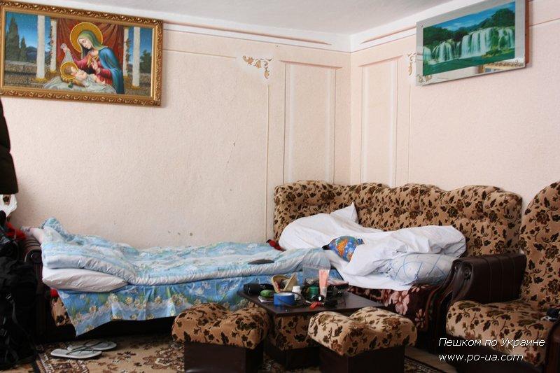 В комнате, Рождество в Карпатах