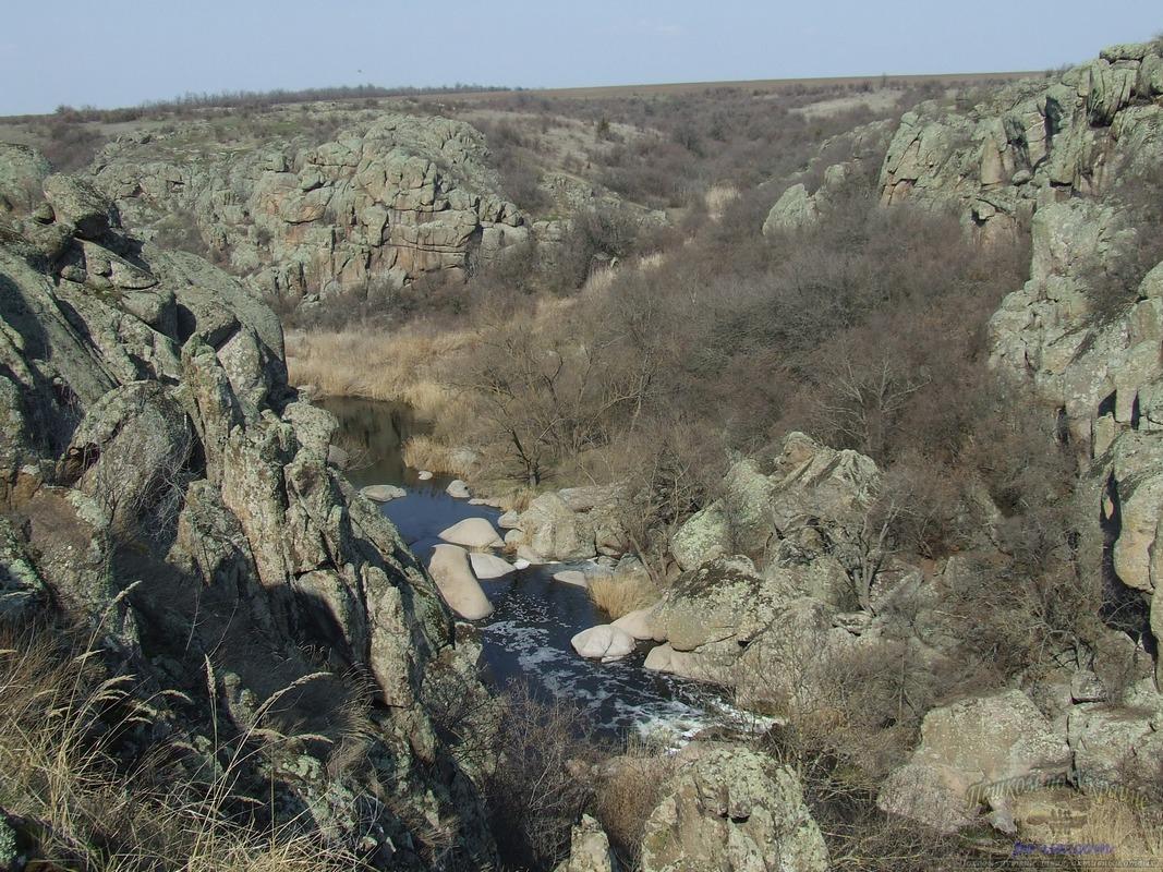 Поход в Актовский, Арбузинский каньоны