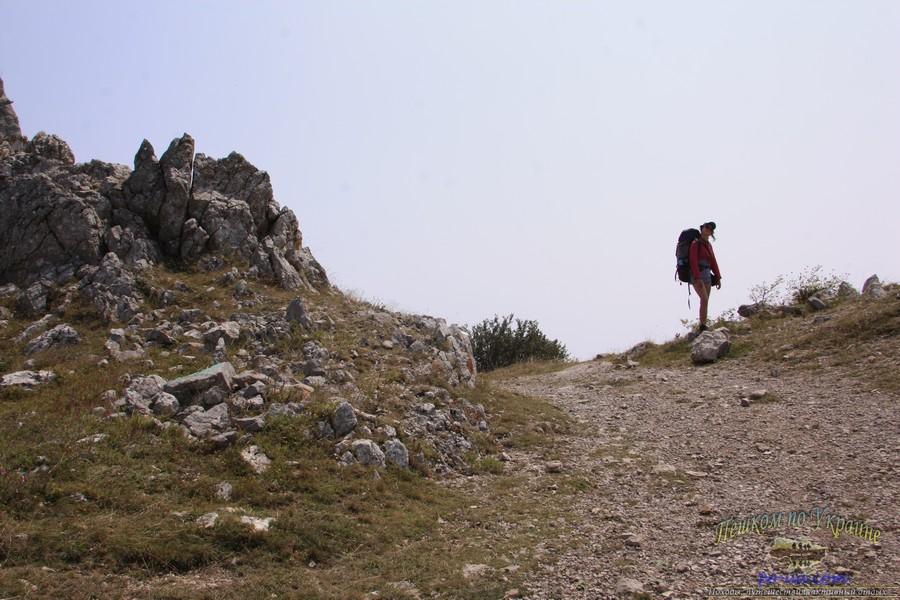Дикий отдых в Крыму, пеший поход по горам