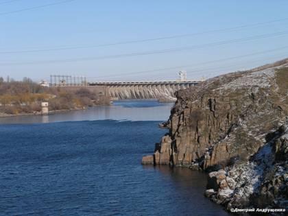 Плотина Днепрогэса
