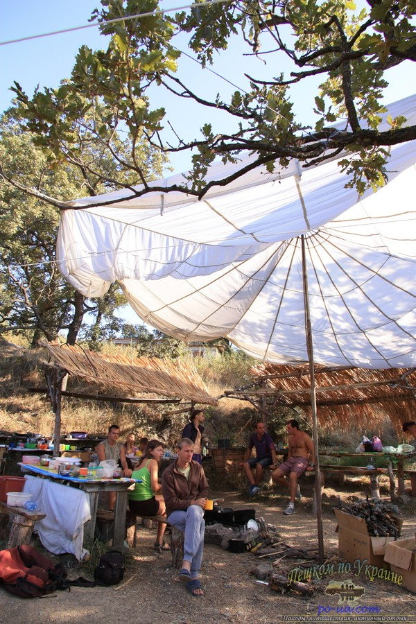 Где в Крыму отдохнуть с палаткой