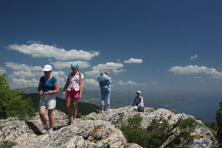 Туристический активный отдых в горах