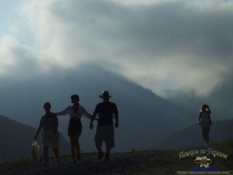 В походе под облаками