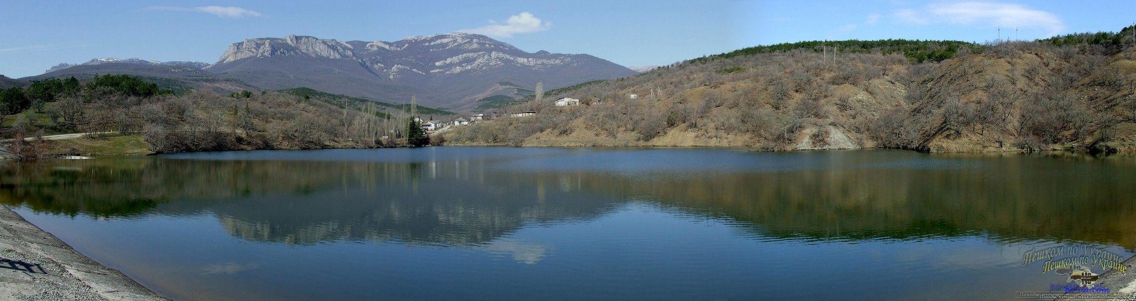 Озеро и хутор Лесной