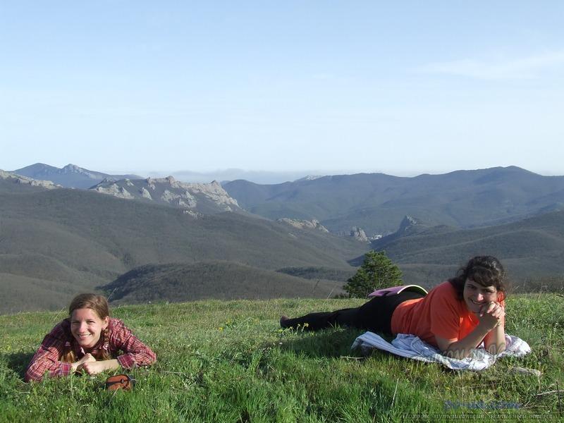 На горе Френк-Мезер