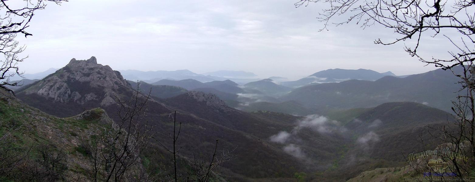Вид на Судакскую долину