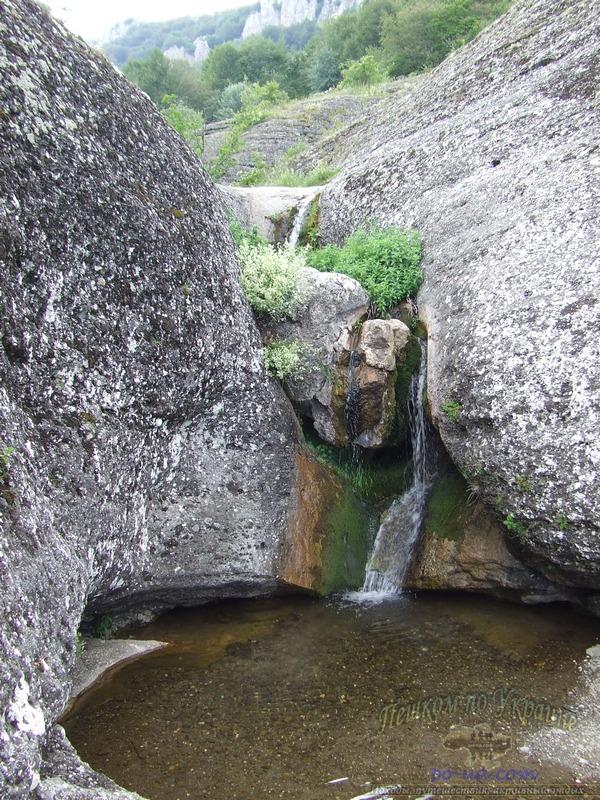 Каскад водопадов Джурла