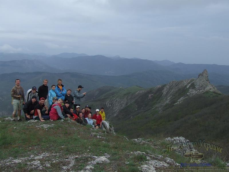В туристическом походе по Крыму