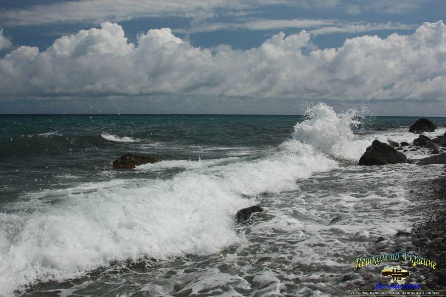 Море в Гурзуфе, отдых