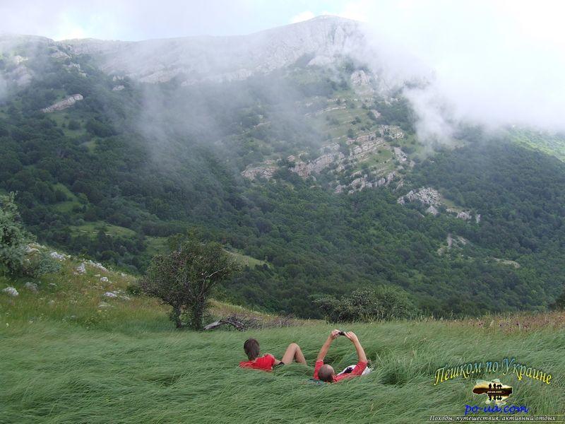 Отдых в горах, Черное море