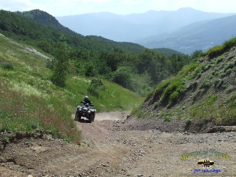 Поездка на квадроциклах по Крыму
