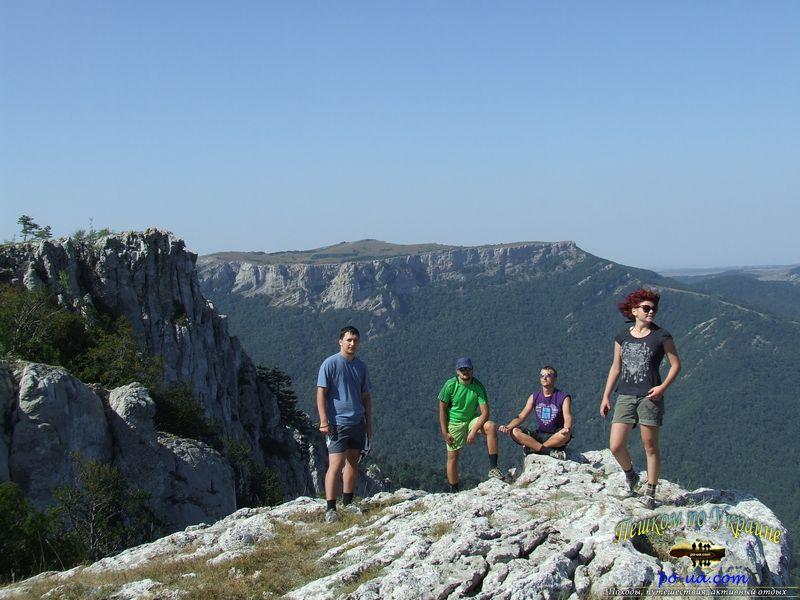 Активный отдых в горах Крыма