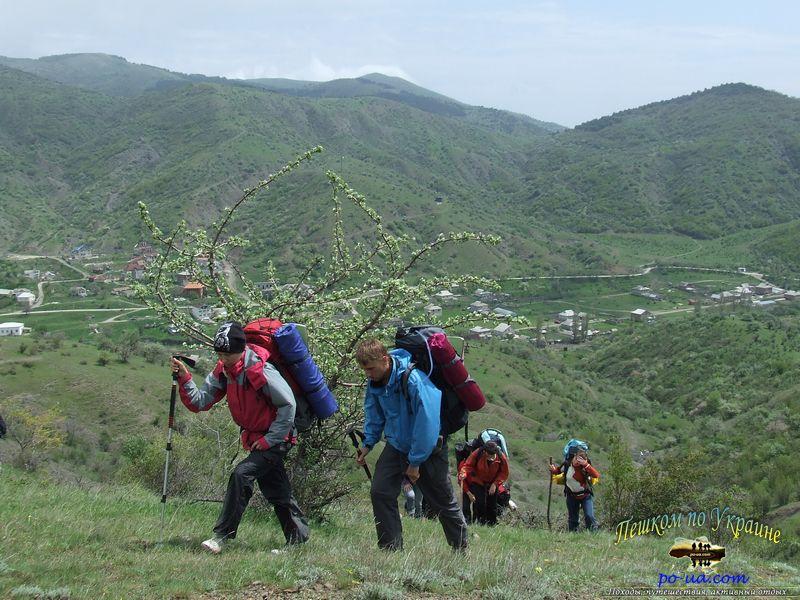 Активный туризм в горах