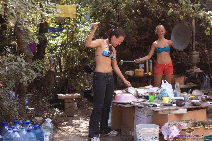Отдых в палаточном лагере Утес, Крым