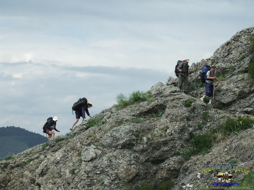 В пешем походе по Крыму
