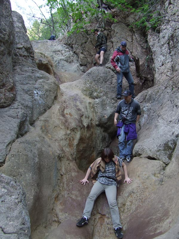 Спуск по каньону