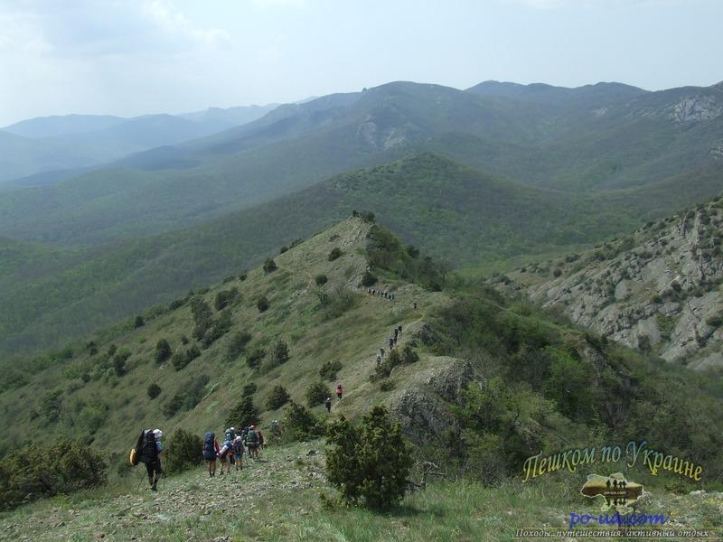 В походе в Крыму