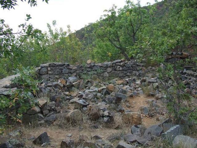 Развалины монастыря на Аю-Даге