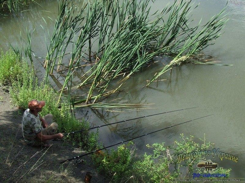 рыбалка на озере ошкаты