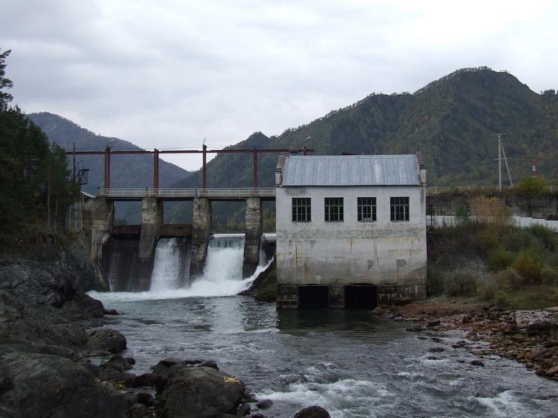 Чемальская ГЭС Алтайский округ