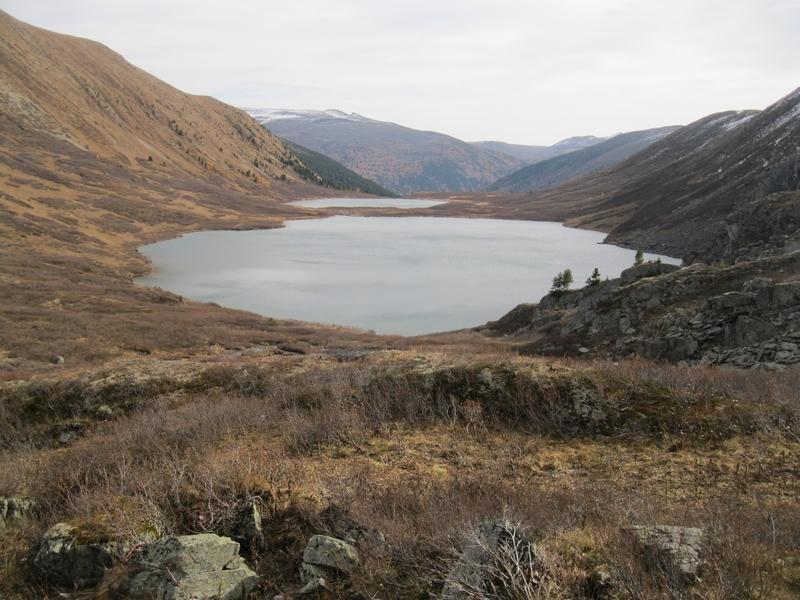 Каскад из трех форелевых озер