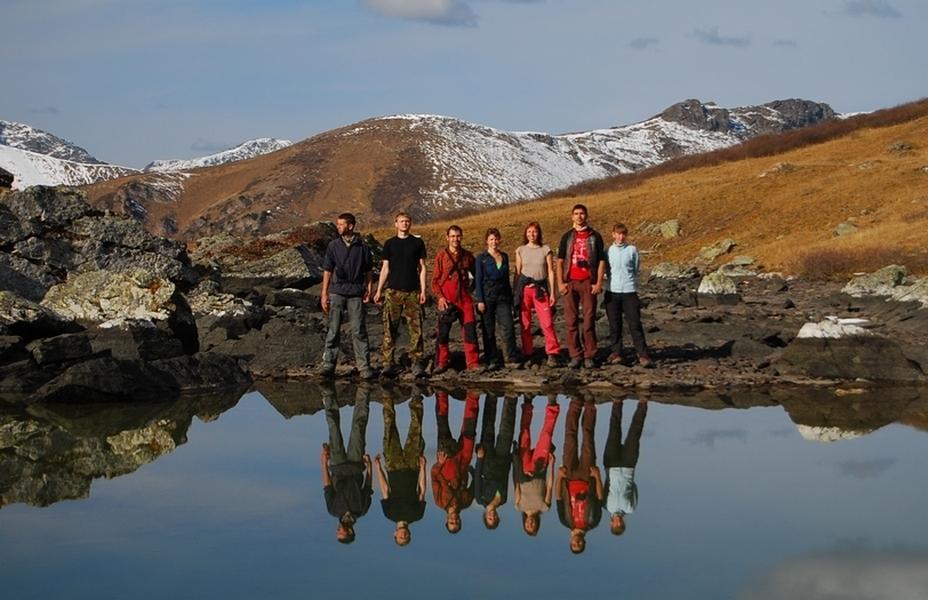 Алтайское высокогорное озеро