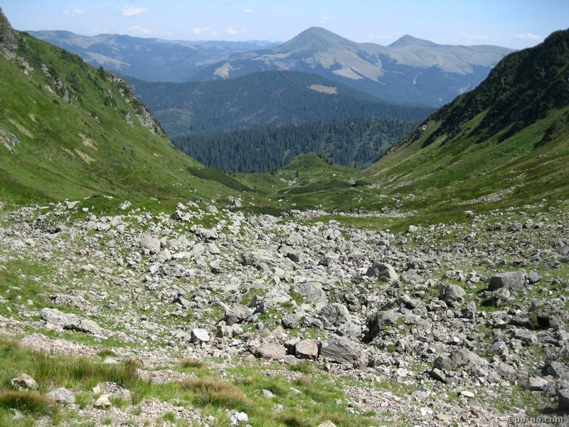 Раховские горы с Поп-Ивана Мармарошского